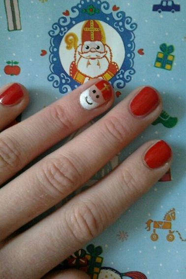Onze Suus magazine archief nov 2013_sinterklaas versiering nagellak