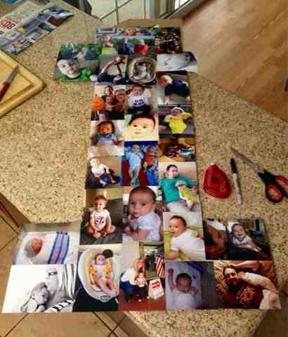 The Good: Birthday Collage for Ben's First Birthday! | The Baker Family: The Good, the Bad and the Unexpected...