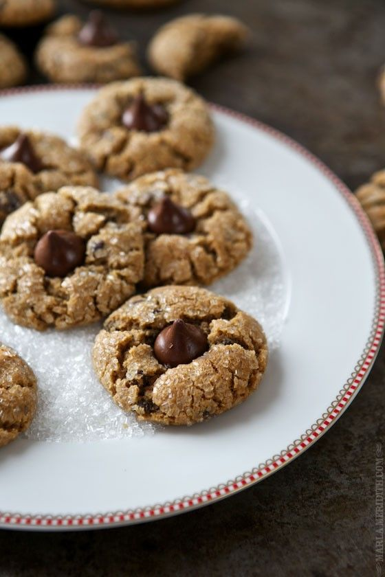 Peanut Blossoms Chocolate Chip Cookies | MarlaMeridith.com