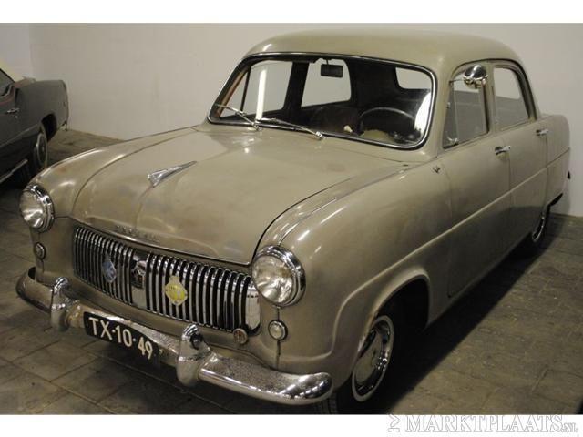 Ford Consul 1954.