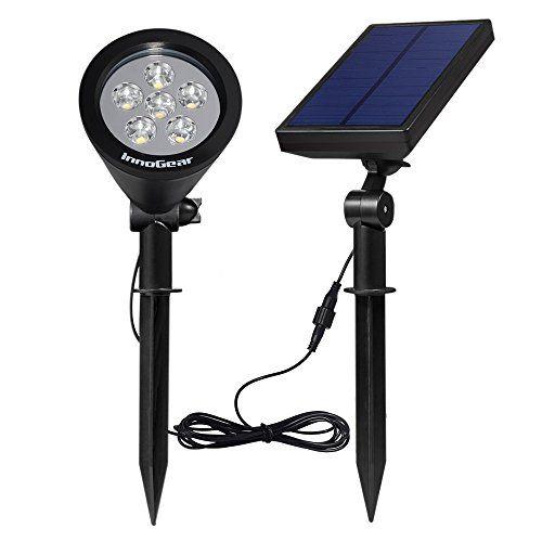 Separate Panel Stick Innogear 174 Solar Powered Spotlight