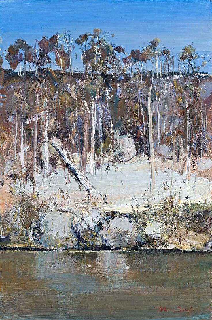 Arthur Boyd Shoalhaven Riverbank c1972