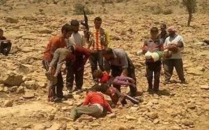 rudaw.net - The refugees say that the Islamic militants have massacred 300 villagers in the vicinities of Shingal since Saturday and that hundreds more missing.