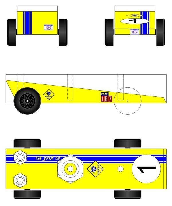 1000+ Ideas About Pinewood Derby Car Templates On