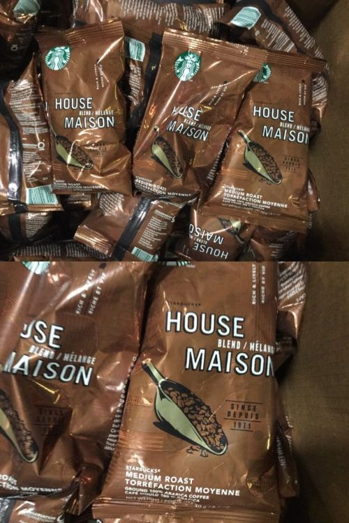 Ground Coffee 79629: 105 Packs Ground Coffee, Starbucks House Blend 2.5 Oz Portion Packs 16.4 Lbs! -> BUY IT NOW ONLY: $89.99 on eBay!