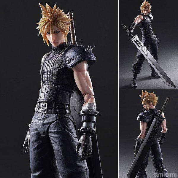 AmiAmi [Character & Hobby Shop]   Play Arts Kai - Final Fantasy VII Remake No.1 Cloud Strife(Pre-order)