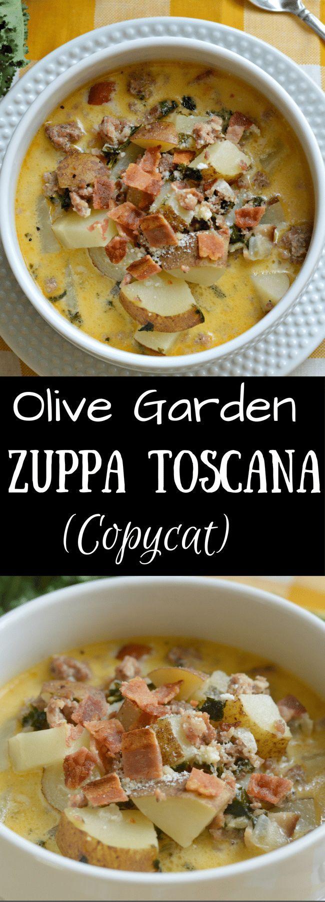 ¡Zuppa Toscana en Olive Garden es una de mis sopas favoritas de todos los tiempos! Sigue leyendo…   – ++ All Recipe's ++
