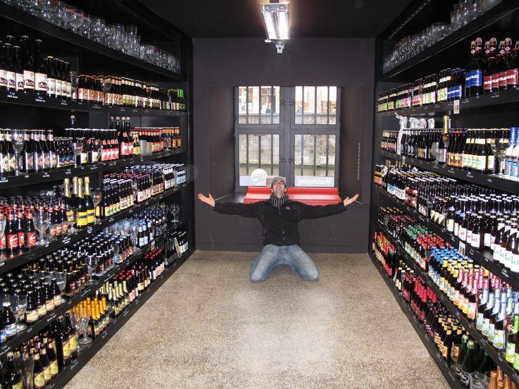 Beer shop heaven in Bruges