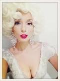 ricki-lee as Marilyn Monroe