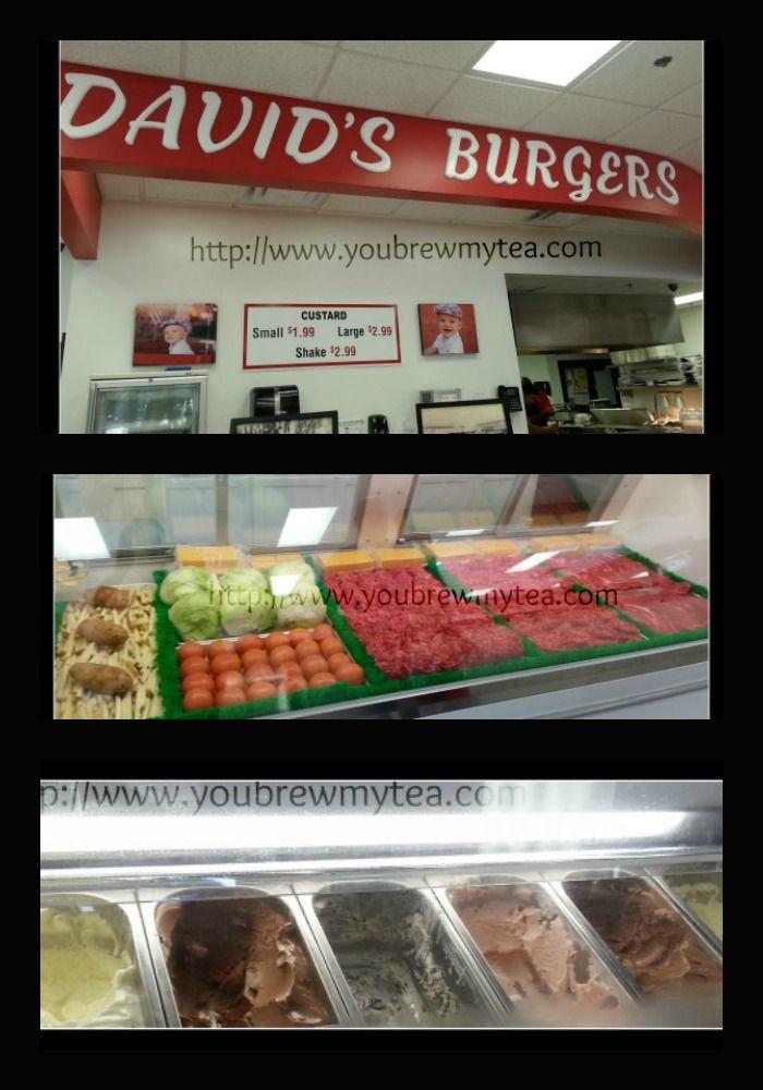 You Brew My Tea: David's Burgers Restaurant Review - Classic Americana in Little Rock, Arkansas