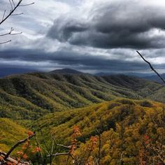 Buffalo Moutain State Park, Johnson City, Tennessee — by Billy Parrott. On top of Buffalo Mountain. Absolutely gorgeous views!