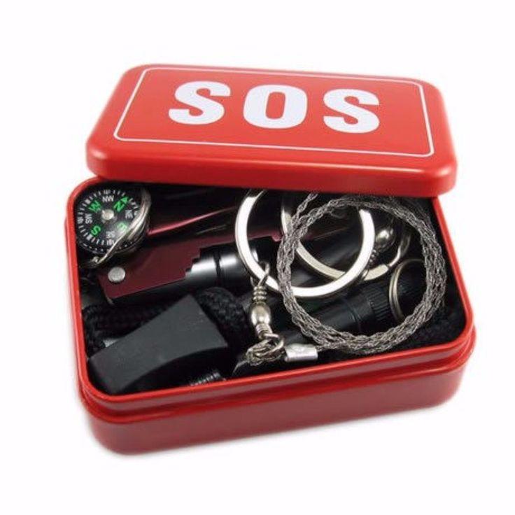 OUTERDO SOS Sopravvivenza di Attrezzature di Emergenza Kit