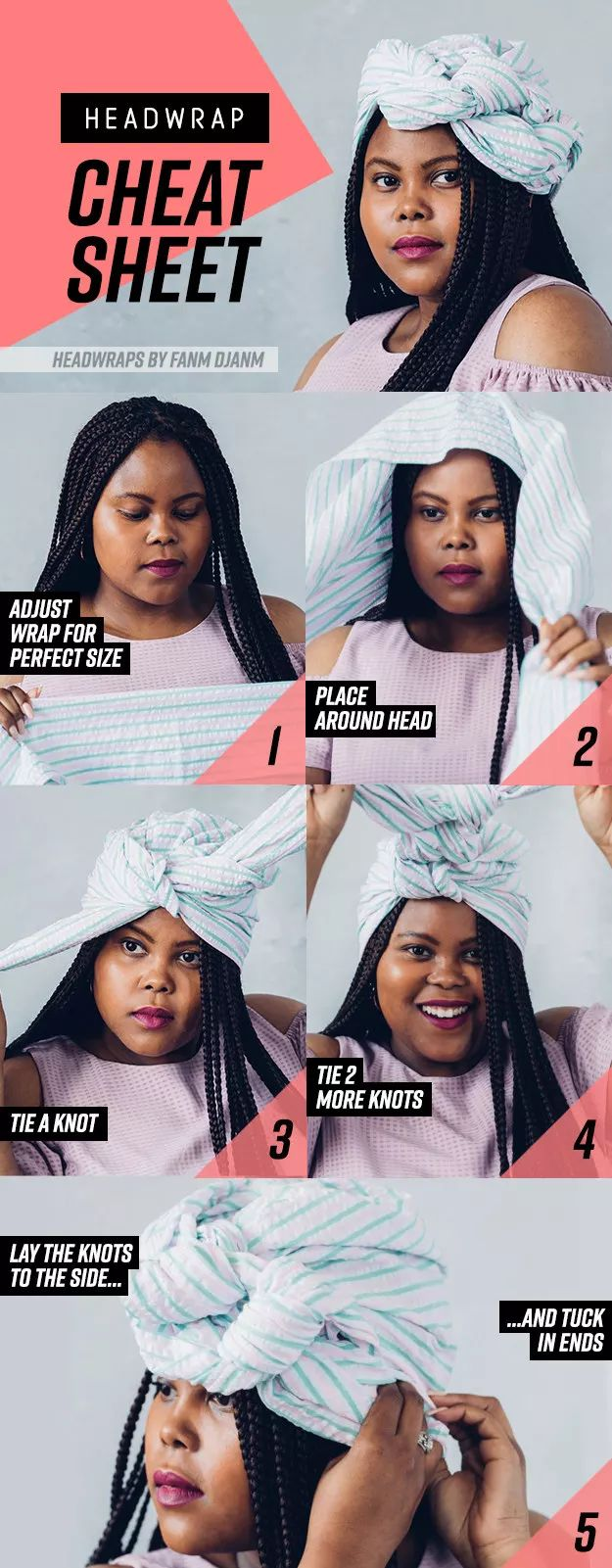 8 Gorgeous Head Wrap Styles You Can Learn In 7 Steps Or Less   – Hairstyles I <3