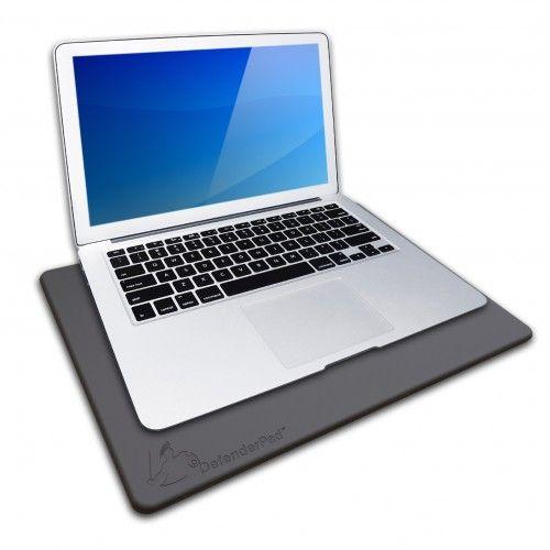 DefenderPad Laptop Radiation Shield  Heat Shield (Black)