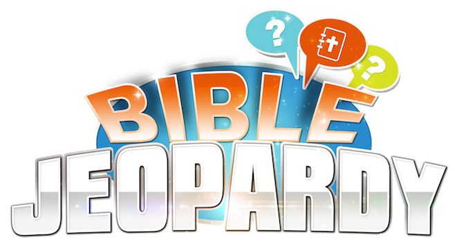 """Play """"Bible Jeopardy"""" with your ENTIRE Family. New Bible trivia game gives players the chance to not just show off their knowledge, but also learn even more about the Bible!  This """"Print & Play"""" game is just like the one on TV, but with Biblical categories like: Miracles, Books of the Bible, Places, & Heroes.  http://teachsundayschool.com/i/biblegames/"""