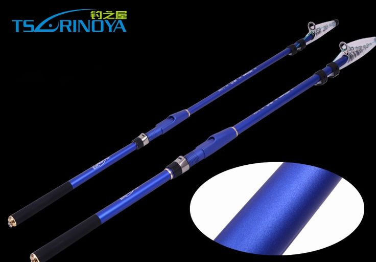 44.90$  Watch now - http://alijfu.worldwells.pw/go.php?t=32656035639 - Portable Telescopic Fishing Rod 2.7M 3.0M 3.6M 4.5M  Carbon rod  Spinning Fish lightweight Sea Rod Canne da pesca