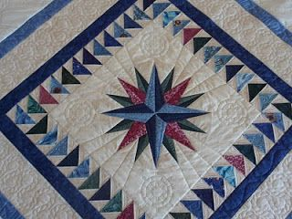 mariners compass quilt pattern | Eucalypt Ridge Quilting: Mariner's star quilt