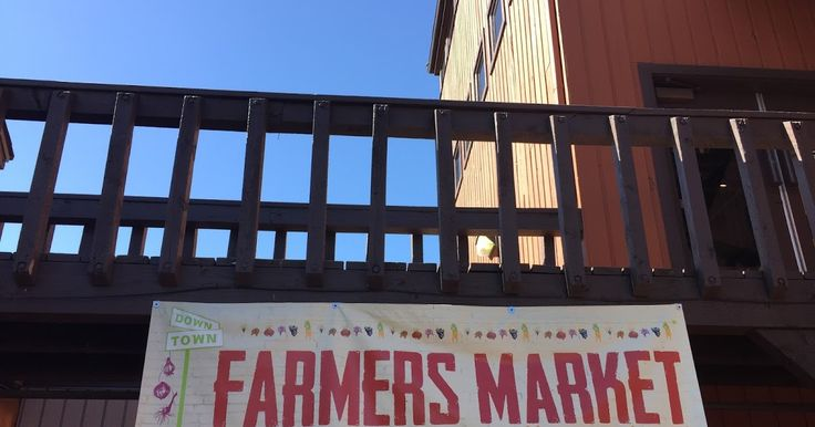 On Saturday Seth and I went to the Downtown Farmers Market at Ancestor Square. It's such a fun atmosphere. There was live music and a lot of...