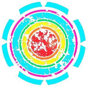 potisk, originální motiv na tričko,T-ART.CZ, ornament color aztec design t-shirt