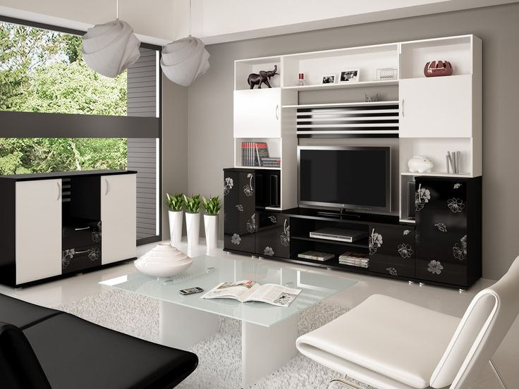 http://taizh.com/wp-content/uploads/2014/12/wonderful-living-room-design-with-beautiful-white-black-paint-cabinet-storage-beside-tv-and-atrractive-pendant-lamps-and-white-table-on-white-rug.jpg