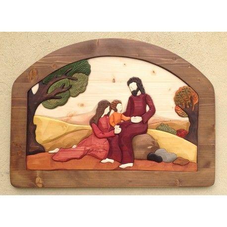 Idea Regalo Matrimonio Sacra Famiglia http://www.naturemadeshop.com/it/icone-sacre/362-sacra-famiglia-in-abete-massello-65x475.html