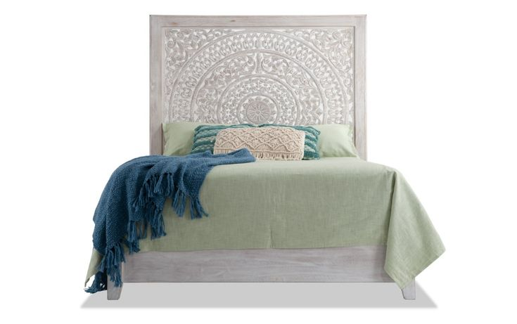 Boho Chic Queen Bed Bobs Com, Bobs Furniture Headboards