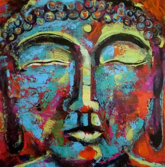 Lisa Tucheck's latest Buddha... Love it!
