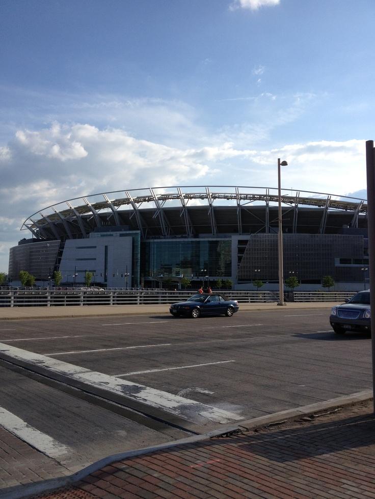 Paul Brown Stadium, Cincinnati