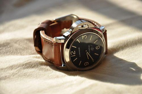 Panarai LuminorLogo, Style, Food, Man Watches, Panerai Luminor, Men Fashion, Clocks, Leather, Men Watches
