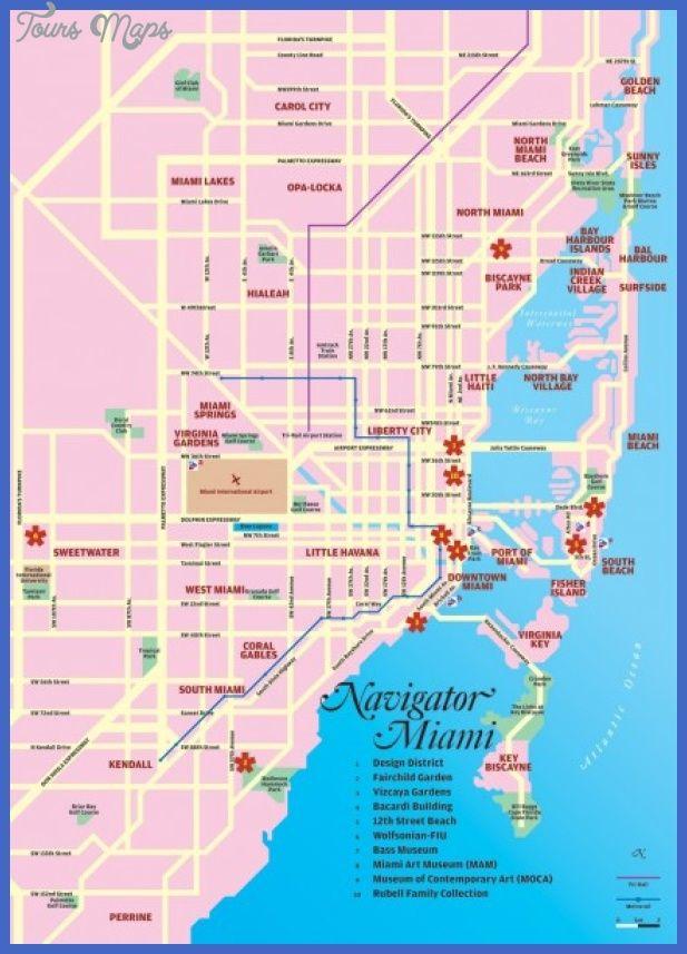 nice Miami Map