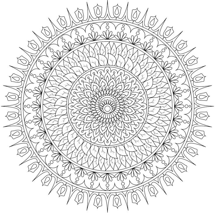 169 best printable mandalas to color free images on pinterest mandalas adult coloring and free coloring pages
