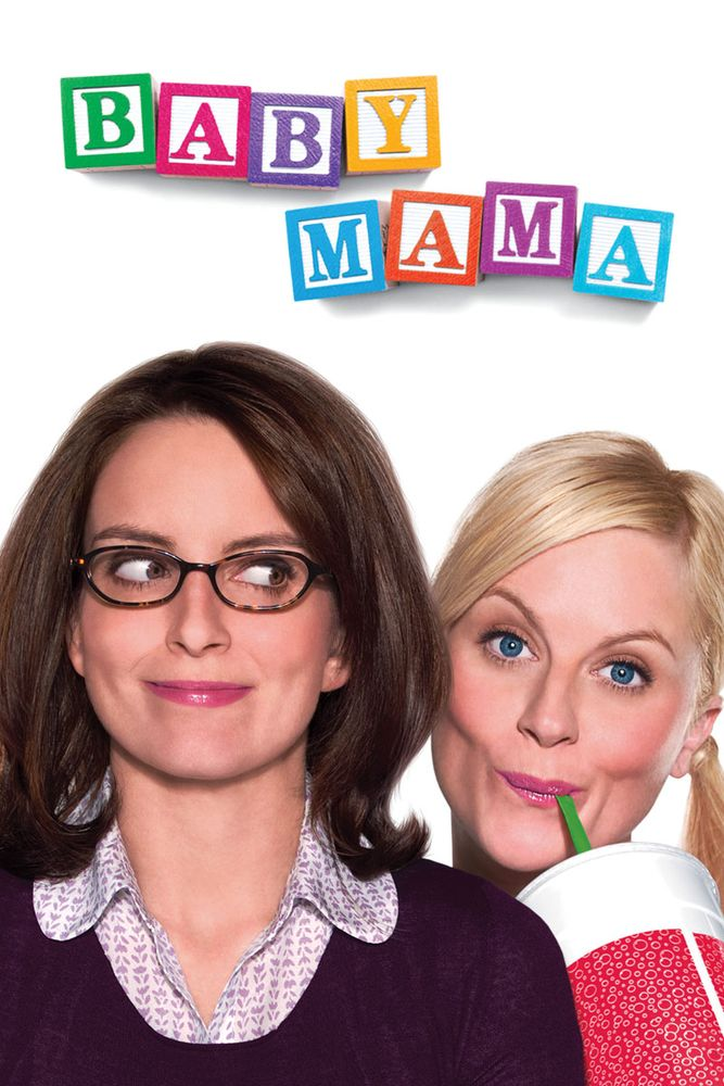 Baby Mama Movie Poster - Tina Fey, Amy Poehler, Greg Kinnear  #BabyMama, #TinaFey, #AmyPoehler, #GregKinnear, #MichaelMcCullers, #Comedy, #Art, #Film, #Movie, #Poster