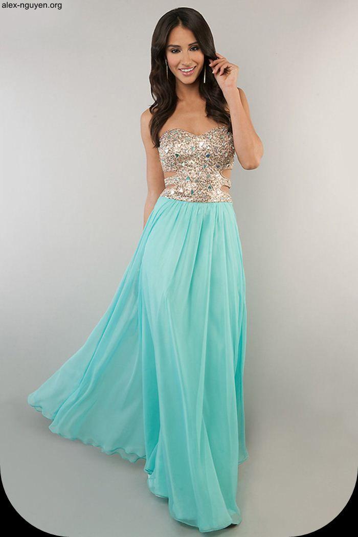 150 best Prom Dresses images on Pinterest | Gold prom dresses ...