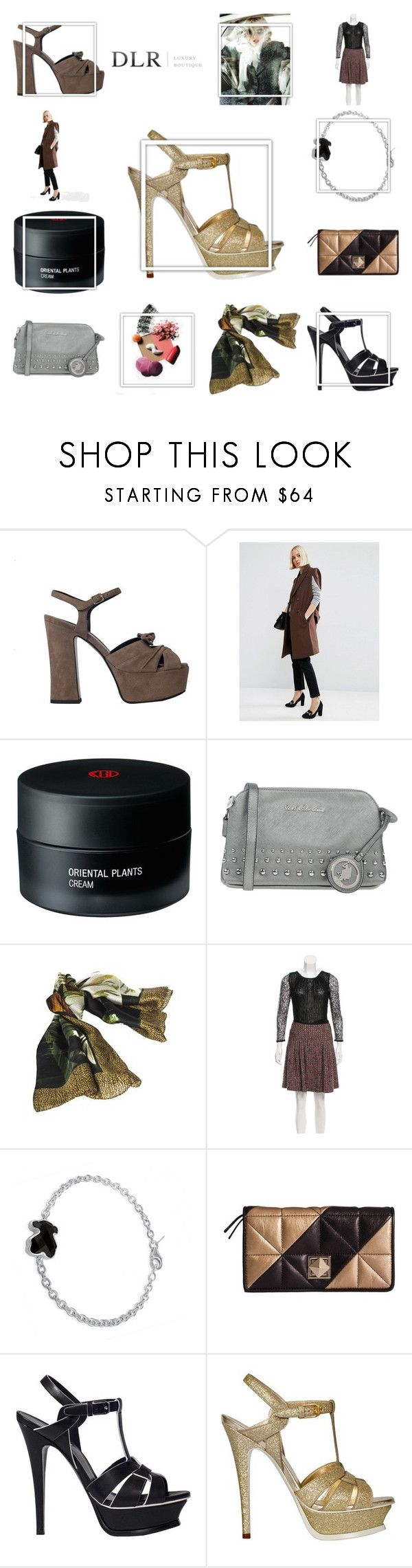 """SALES! DLRBOUTIQUE"" by cheapchicceleb ❤ liked on Polyvore featuring Yves Saint Laurent, ASOS, Koh Gen Do, U.S. Polo Assn., Borbonese, RED Valentino, TOUS, Sonia Rykiel, Heels and sales"