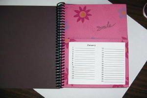greeting card organizer with tutorial