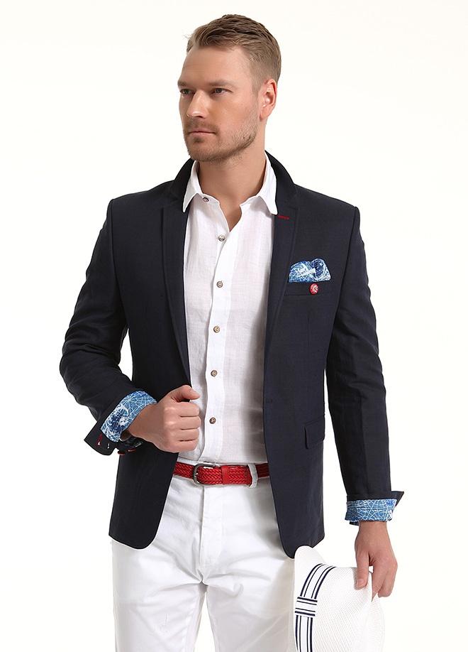 Sateen Men Keten ceket Markafonide 299,90 TL yerine 149,99 TL! Satın almak için: http://www.markafoni.com/product/3797805/