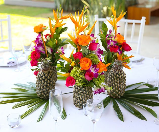 Best ideas about tropical wedding decor on pinterest