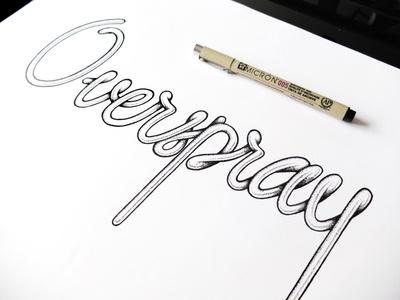 Nice hand drawn type