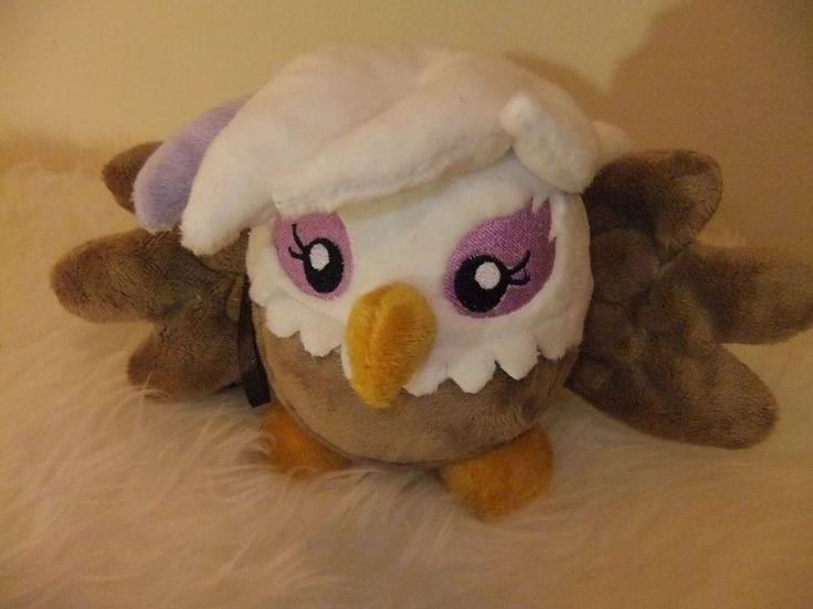 My Little Pony Plush Mochi Pon-Pon Gilda baby  FRIENDSHIP IS MAGIC toy.  SOLD.