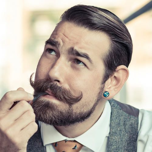 Fabulous 1000 Images About Beards And Hairstyles On Pinterest Short Hairstyles Gunalazisus
