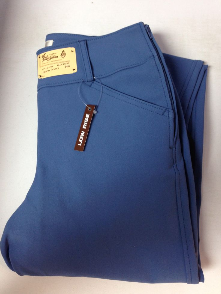 Tailored Sportsman Trophy Hunter Breeches Blue Print