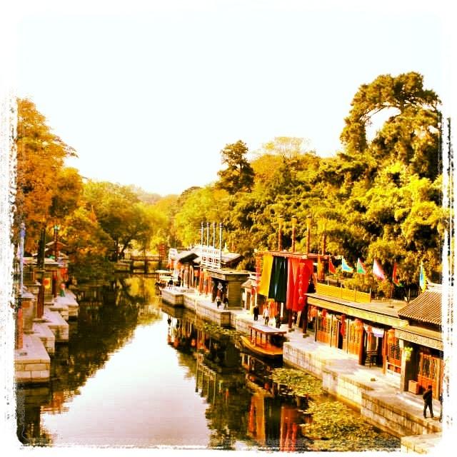 #summerpalace #beijing #travel #tourist #beijing #park #nature #trees #lanterns #ancient #asia