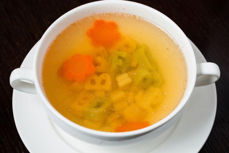 Zeleninová polievka pre dojčatá