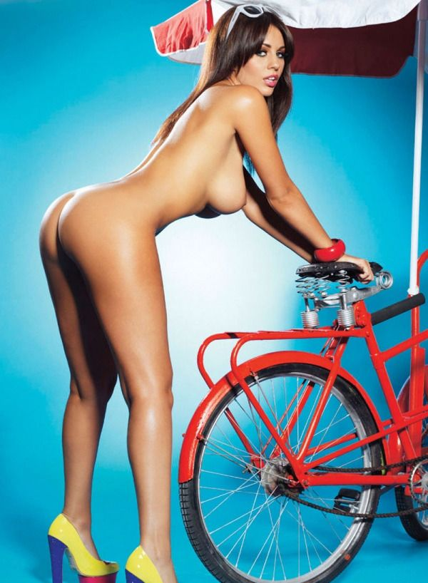 "thebicycleslutscoll:  "" TheBicycleSluts  Holly Peers..  """