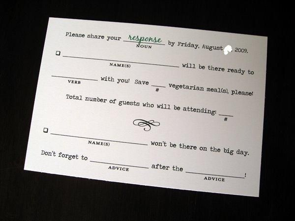 13 best images about Fun RSVP Ideas