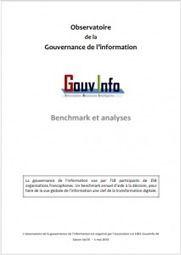 Benchmark sur la gouvernance de l'information I Jean-Pascal Perrein