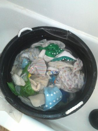 Amazing how-to on hand washing cloth diapers!! Baby #2 will be cloth for sure.
