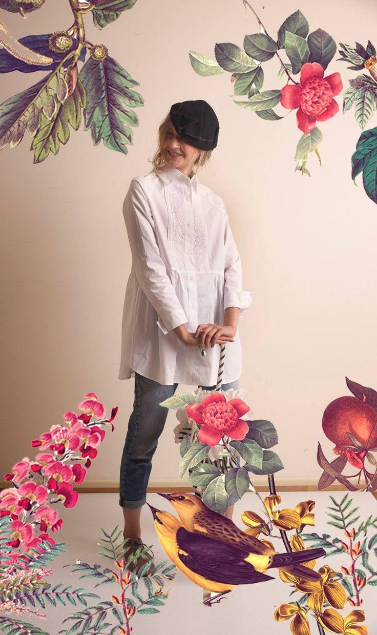 White canvas... *Laurent Belissen * DRESS