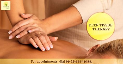 Deep Tissue Therapy utilizes slower & firmer strokes, application of deeper pressure to assist in stimulating the blood & oxygen flow throughout the body. Experience the joy of healing at The Serene Room Spa.