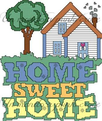 Un mondo a punto croce: Jenny's patterns: Home sweet home